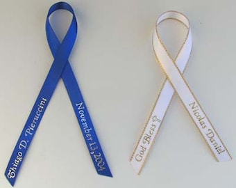 Personalized Ribbon to add to any of the favors listed on this shop.