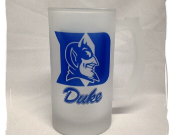 Duke University Blue Devils Frosted 16 ounce Beer Mug