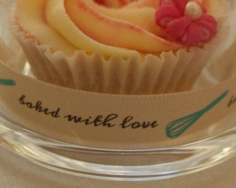 Ribbon, 'Baked with Love'