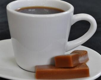 Coffee Caramel flavor homemade caramels