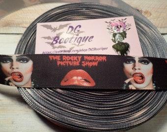 Rocky Horror Picture Show Grosgrain ribbon, Tim Curry Frankenfurter Grosgrain ribbon