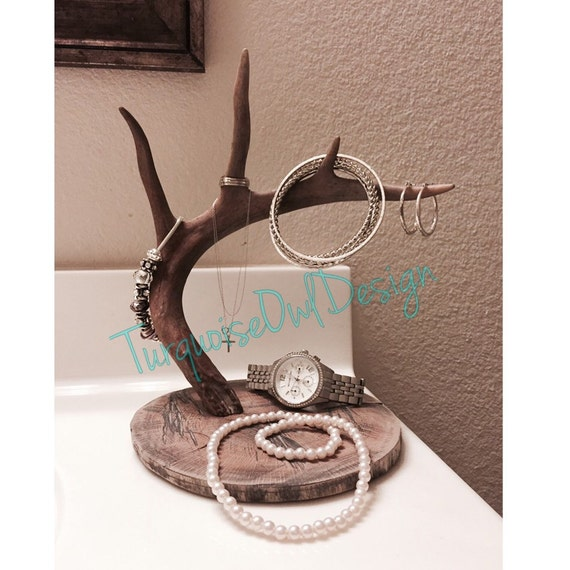 antler jewelry holder deer antler whitetail by
