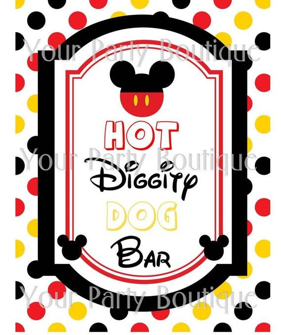 Mickey Mouse Hot Dog Hot Dog Lyrics
