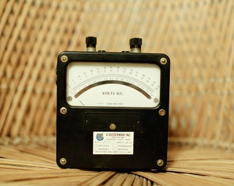 Vintage Volt Meter - Weston Electrical Instrument Corp.