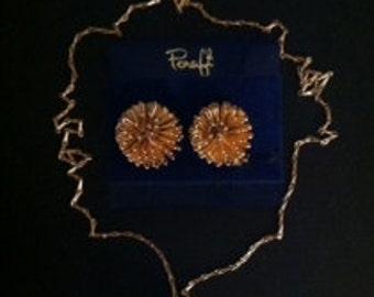 Sunburst Color Earrings & Necklace Set