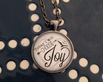 Choose Joy Pendant
