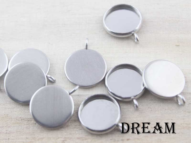 Round bezel cups stainless steel bezel pendant blanks recessed round bezel cups stainless steel bezel pendant blanks recessed bezel cabochon setting pendant trays 20pcs attract magnets mozeypictures Image collections