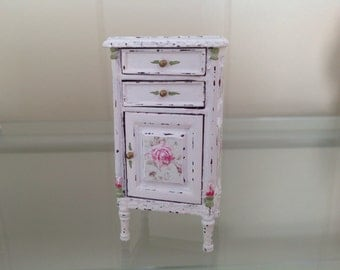 Bespaq Hand Painted Shabby Chic Side Table