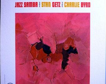 1962 Stan Getz Charlie Byrd Jazz Samba Jazz Masterpiece Near Mint Original '62 Verve Stereo LP V6-8432