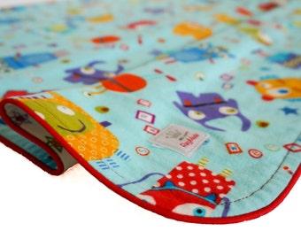 Baby Blanket, Flannel, Monsters
