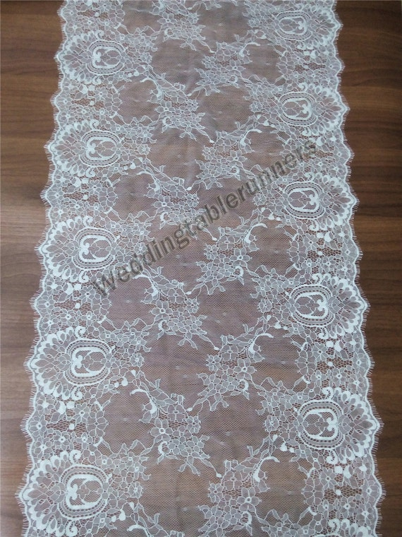 30ft lace table runner 16 white table runners wedding table runners