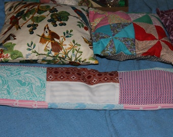 Five Antique Pillows, very Soft and Great Colors for Home Decoration