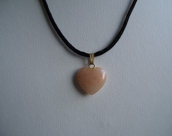 Necklace Peach Aventurine