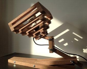 Little Spine - wooden lamp