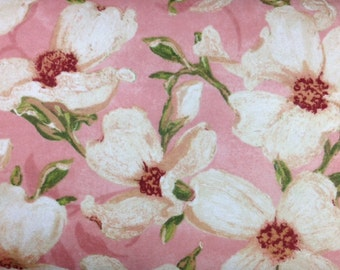 Wilmington Prints VELVET DOGWOOD PINK 100% Cotton Premium Flannel Fabric-Per 1/2 Yd