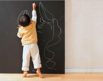 Large chalkboard wall decal Chalkboard wall sticker Custom chalkboard wall decal Nursery chalkboard wall decal Dry erase wall decals