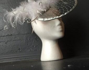 Gray Wearable Art Headpiece