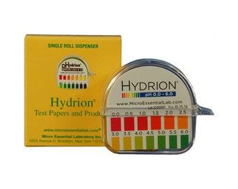 pH Indicator Roll (0-6)