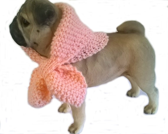 flesh pink scarf scarves for dogs by