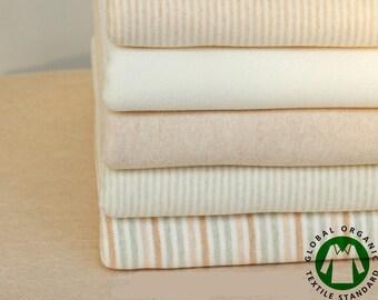 Class A pure cotton fabrics organic colored cotton ,Knitting Fabric,knitted cotton,organic cotton,  knit fabric,baby fabric --1/2 yard