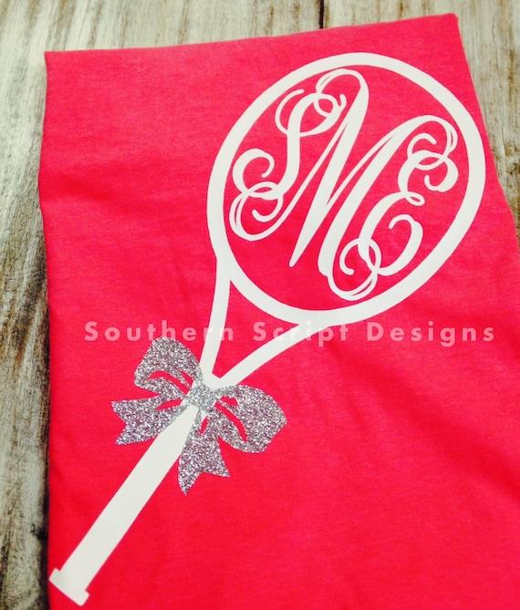 Short Sleeve Monogrammed Tennis Shirt