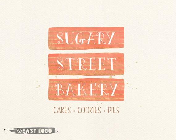 Cute Bakery Ideas Custom Bakery Logo Cute Cake