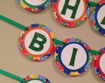 Hungry Caterpillar Themed Wall Banner, Hungry Caterpillar Birthday Party Banner, Hungry Caterpillar Theme Decorations
