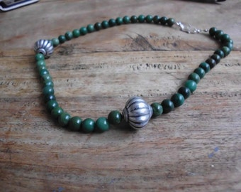 Verdite - special green, handmade necklace