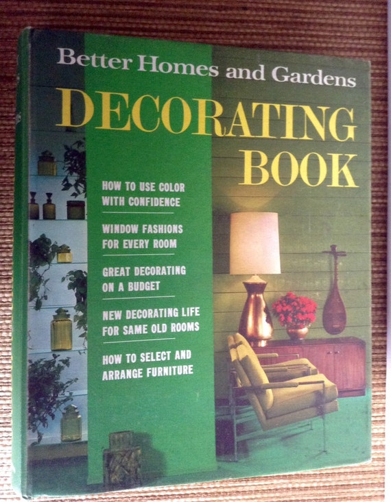 Mid Century Decorating Book Vintage Better Homes And Gardens