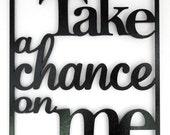 Take a Chance On Me   Son...