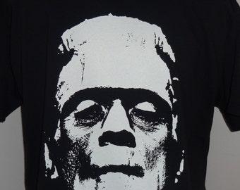 Frankenstein T-Shirt Unisex Adults Vintage Clothing Boris Karloff James Whale Horror