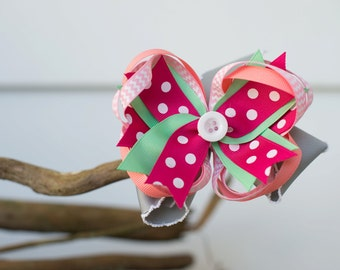 Boutique Loopy Stacked Bow