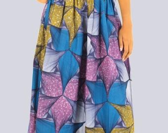 Maxi Skirt,  Long Skirt, Colourful Maxi Skirt, Colourful Long Skirt, Boho Maxi Skirt, High Waisted Maxi Skirt, Handmade Maxi Skirt