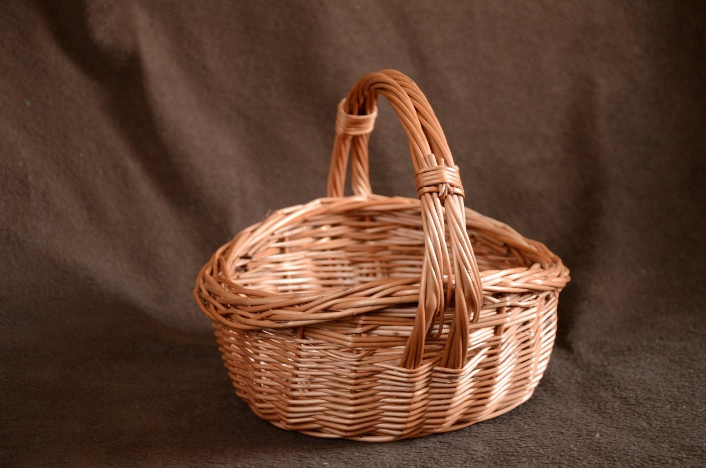 handwoven kids wicker basket mini wicker basket easter. Black Bedroom Furniture Sets. Home Design Ideas