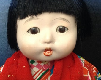 Japanese composition baby doll 10 inches