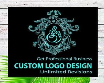 Logo design, Custom logo design, Vintage logo design, Business Logo design, Photography Logo design, Logo design branding, watercolor logo