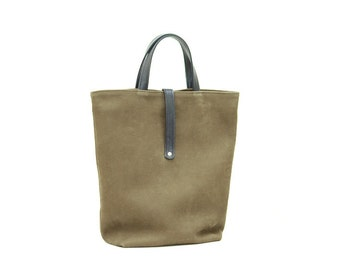 Sale / / leather MILO Tote