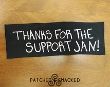 Thanks For The Support Jan! Dylan O'Brien Patch
