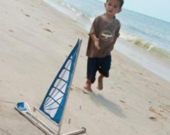 Kit for children beach sailing,encourage your child