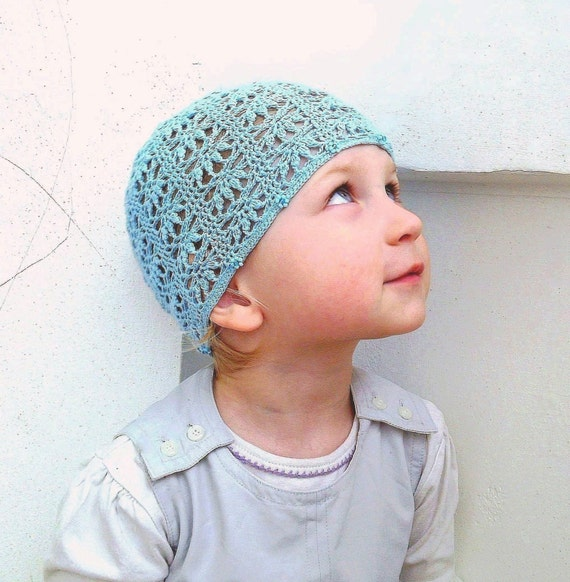 Crochet Hat Patterns With Beads : Sunbonnet with Beads Crochet Baby Kids Toddler Hat by ...