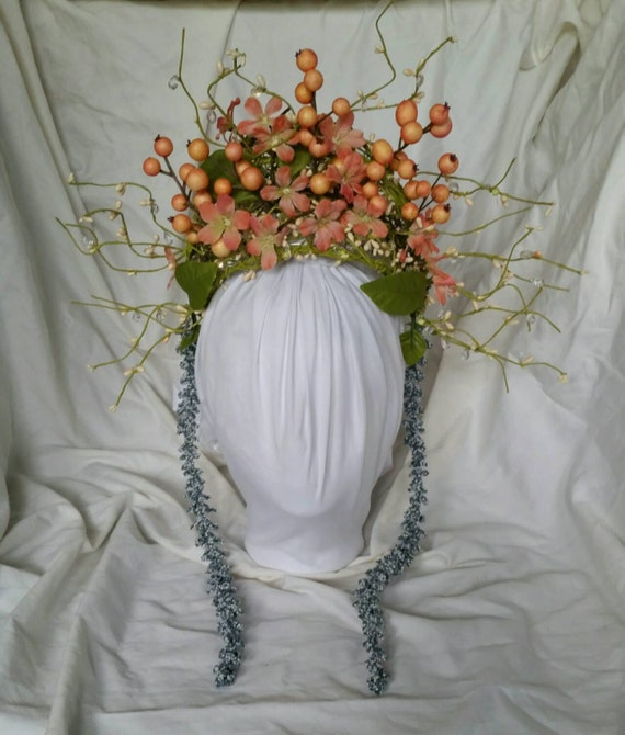 Fairy Cosplay Headpiece - Floral Woodland CrownWoodland Fairy Cosplay