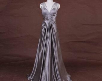 Yuliana v neck evening dress black by bcbg www eveningdressoutlets