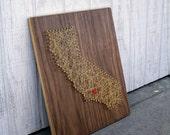 Los Angeles, California Wall Art - Walnut