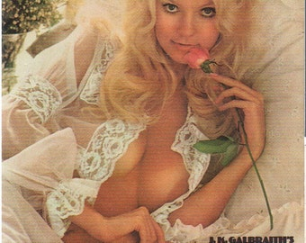 MATURE - Playboy Trading Card February 1974 - Cover - Karen Christy - Card #61