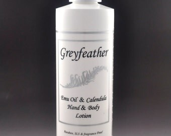 Greyfeather Emu oil and Calendula Hand and Body lotion