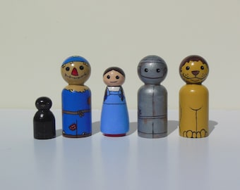 The Wizard of OZ Peg Dolls