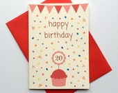 Customizable Birthday Card Happy Birthday Card Greeting Card Cute Birthday Card personalized birthday card