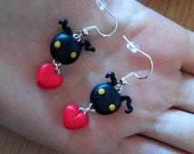 Heartless Kingdom Hearts Earrings