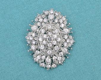 Crystal Rhinestone Brooch Wedding Brooch Bridal Jewelry Wedding Accessories Sahs Pin Brooch Bouquet Supplies