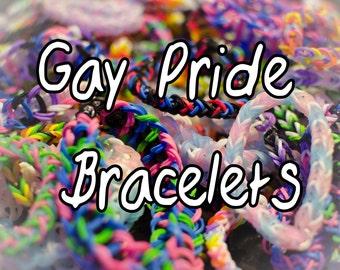 Gay Pride Loom Bracelets (Buy Two Get one Free)
